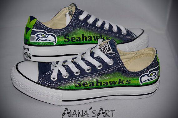 121b6f91ae38d5 Seahawks Converse Shoes
