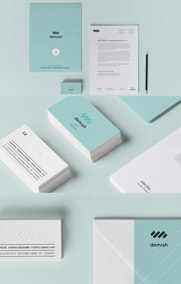 40 Free Branding  Identity Mockup Templates to Download IDENTITY