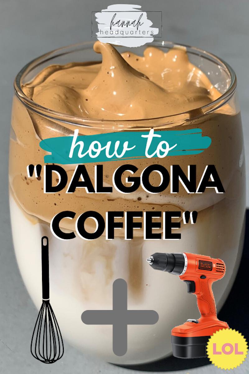 "Dalgona ""Creamy"" Coffee Recipe Gone Somewhat Right LOL"