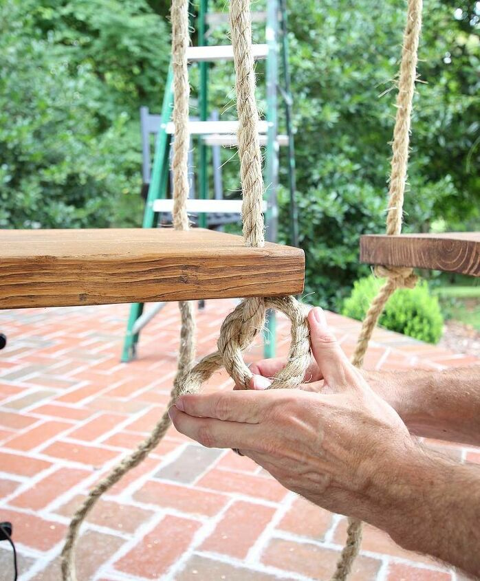 How to Build and Hang Single Seat Porch Swings Porch