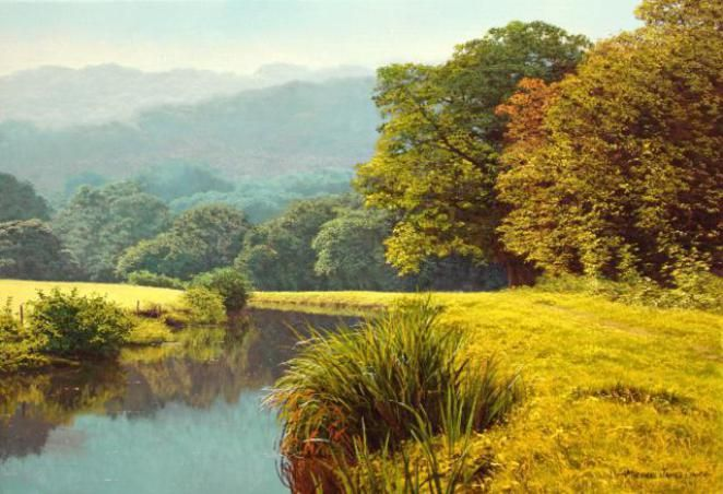 british-landscape-artist | Oil painting landscape ...