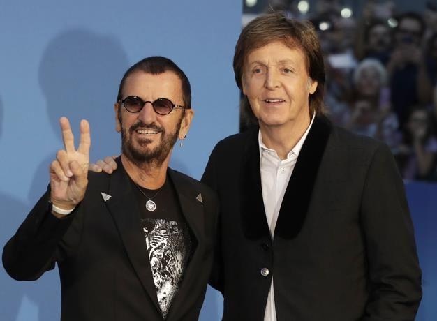 Paul McCartney y Ringo Starr asistieron al estreno del documental de The Beatles