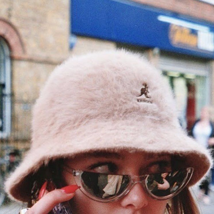 7780e4c4cd208 This fluffy bucket hat is at the top of our wishlist 😭✨ Inspo ~ not our  pic ~ ✨