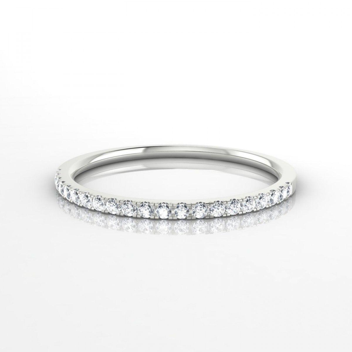1adb6796dd0 Union Bague Diamant en Argent 925