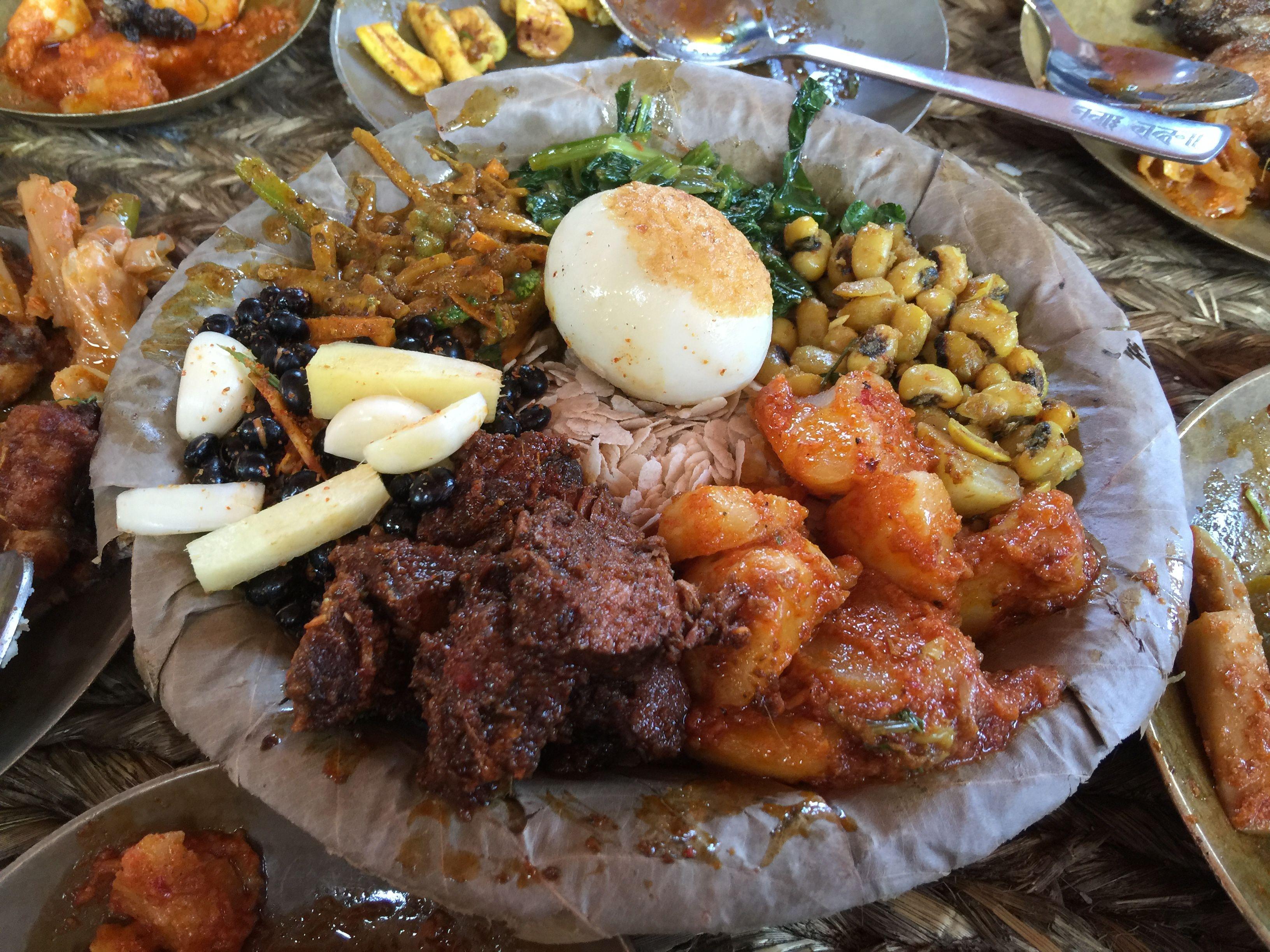 Newari food, samay baji | NEPAL | Ethnic recipes, Food, Nepal