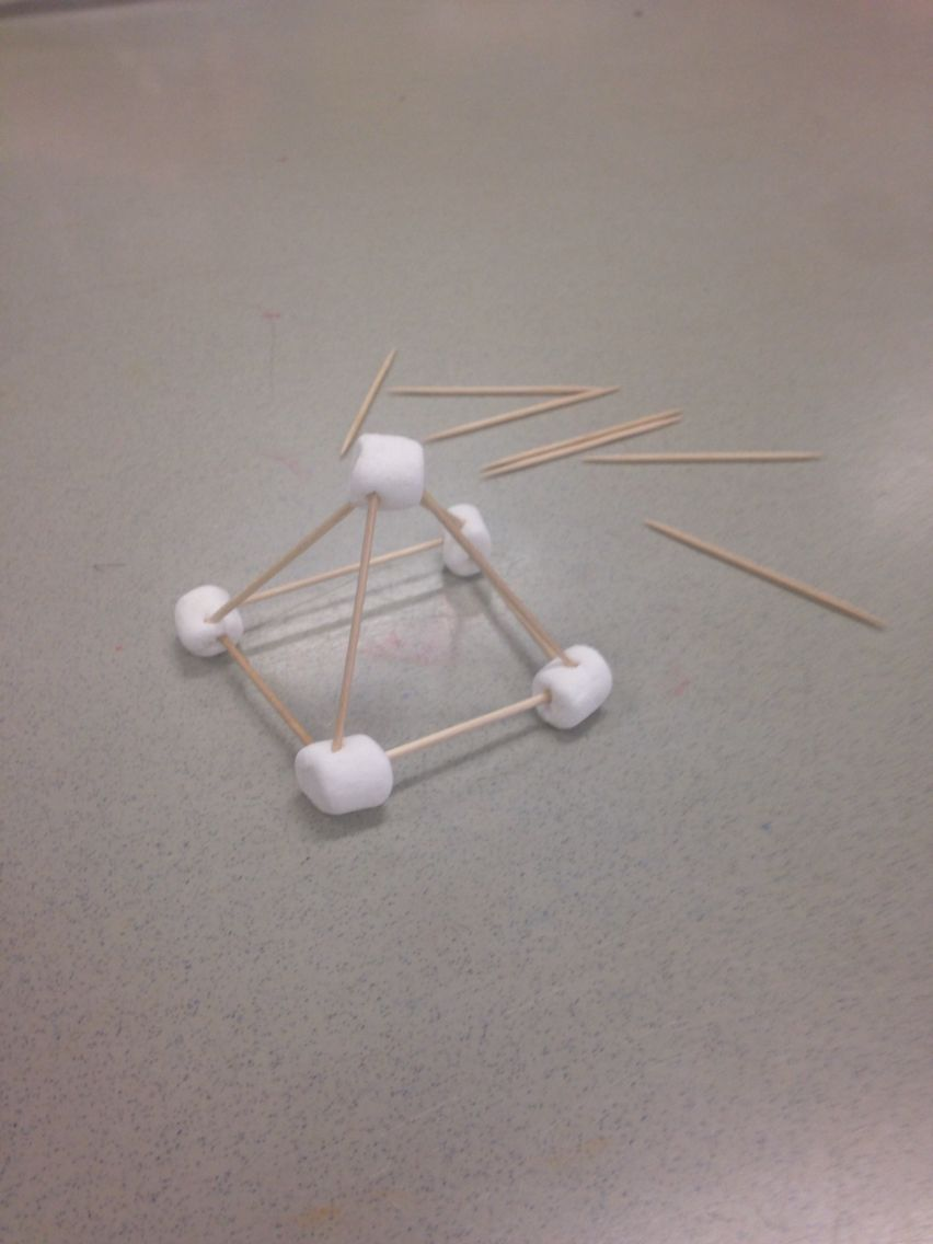3d Shapes With Marshmallows And Toothpicks We Made Pyramids Cubes Rectangular Prisms And Triangular Prism Triangular Prism Rectangular Prisms Math Projects