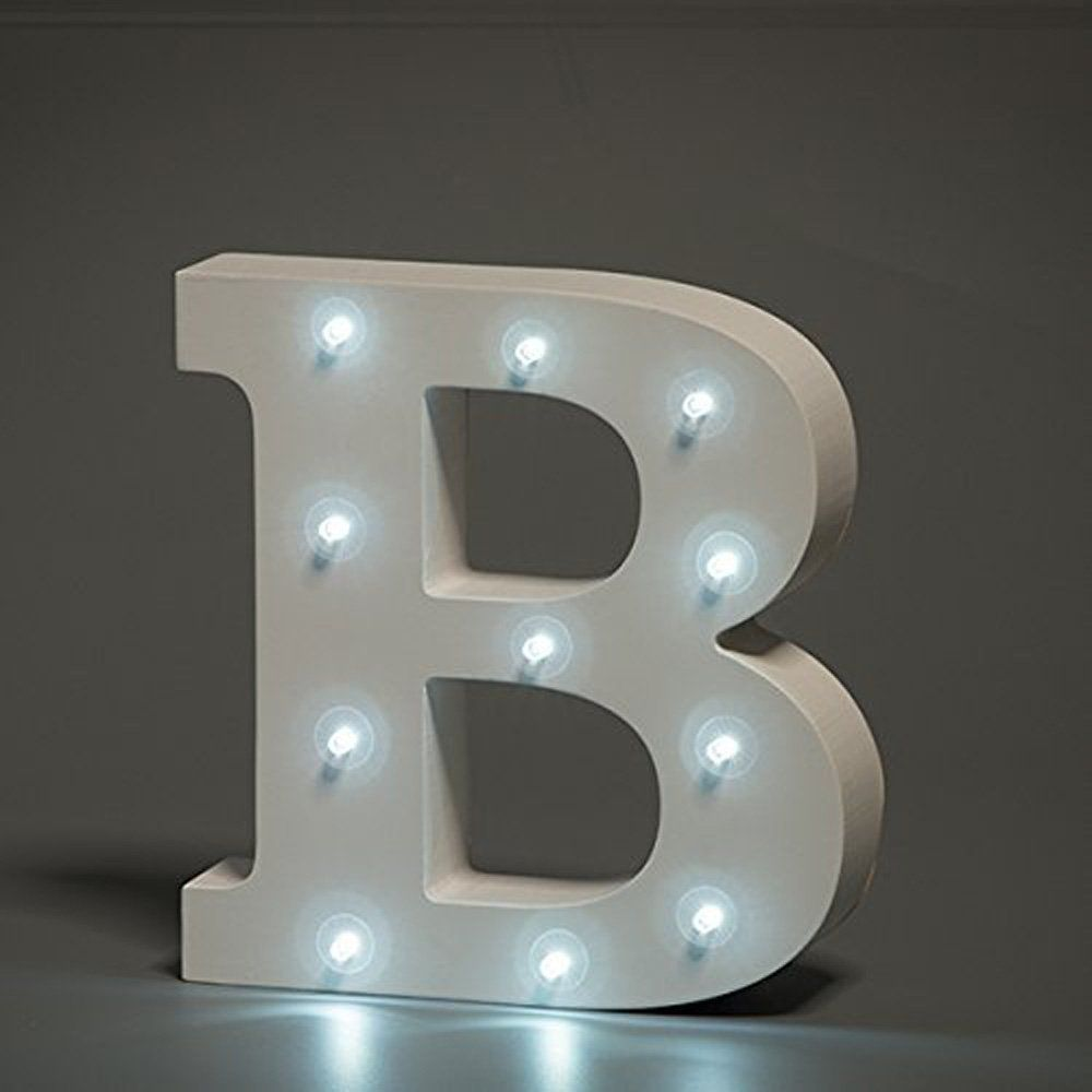 White Letters Numbers and /& Signs Ampersands 20cm Large White Wooden Letters