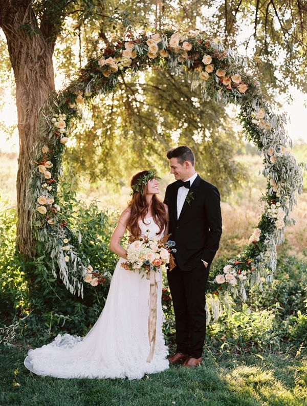 2015 bohemian chic wedding arch canopy huppa flower decoration ideas 3 & 2015 bohemian chic wedding arch canopy huppa flower decoration ideas ...