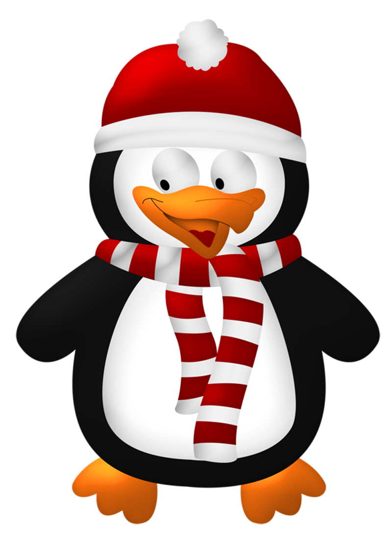 christmas penguins clipart - Google Search | Christmas ...