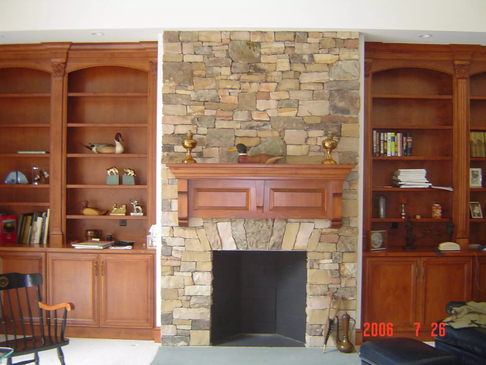 Wall mantel piece and builtin shelving mantel pinterest