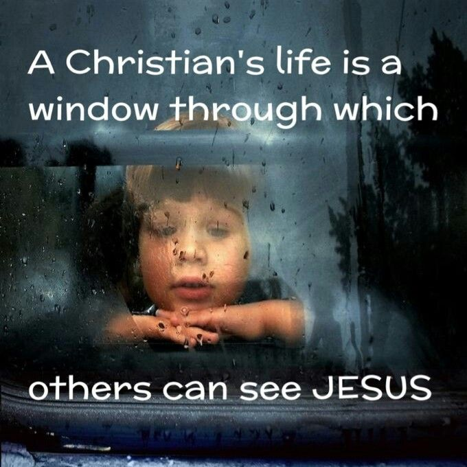 Christian Living: May My Life Always Reflect Jesus...