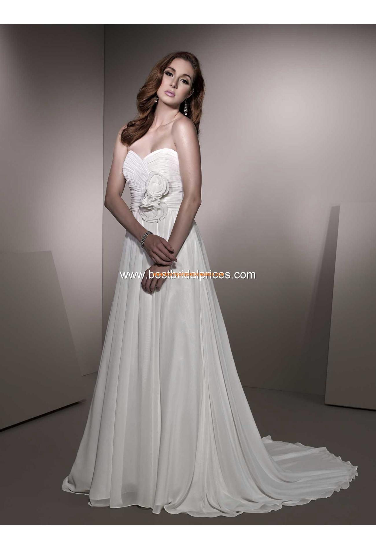 robe de mari e simple mousseline drap fleur robe de mari e grande taille pinterest. Black Bedroom Furniture Sets. Home Design Ideas