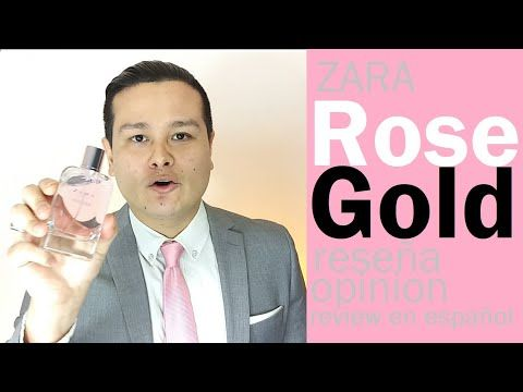 ZARA Rose Gold, el mejor perfume de mujer de Zara | Mi