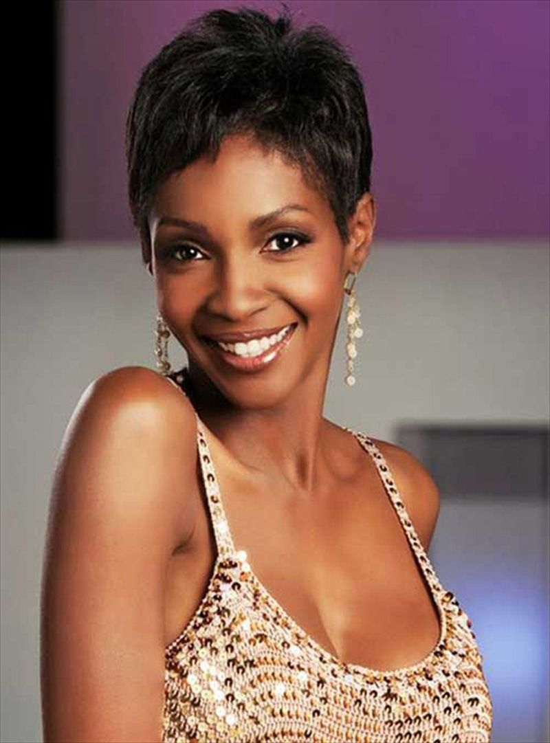 Short Cut Hairstyles For Black Women With Pixie Hairstyle Short