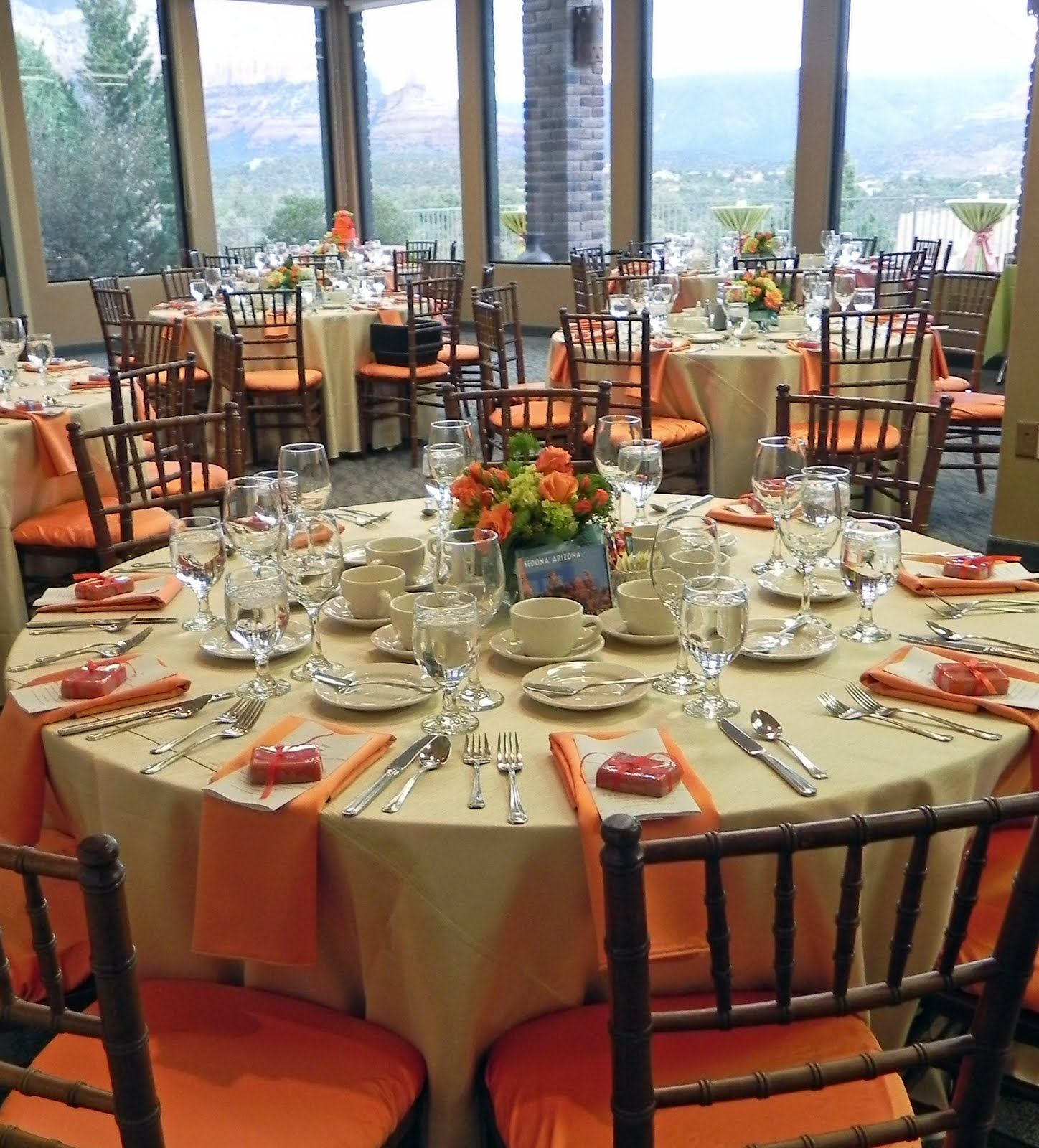 Rehearsal Dinner: Rehearsal Dinner Idea! And Corley Loves Orange, Hehe