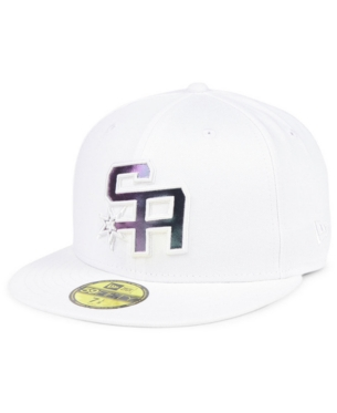 a2b1ebfcc2110 San Antonio Spurs Iridescent Combo 59FIFTY FITTED Cap in 2019 ...