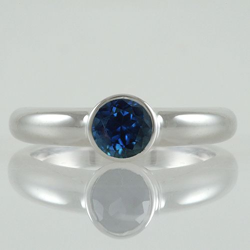 A Gorgeous Engagement Ring Featuring A Beautiful, Natural