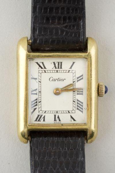 94bbc3e527 Antique Cartier Tank Watch