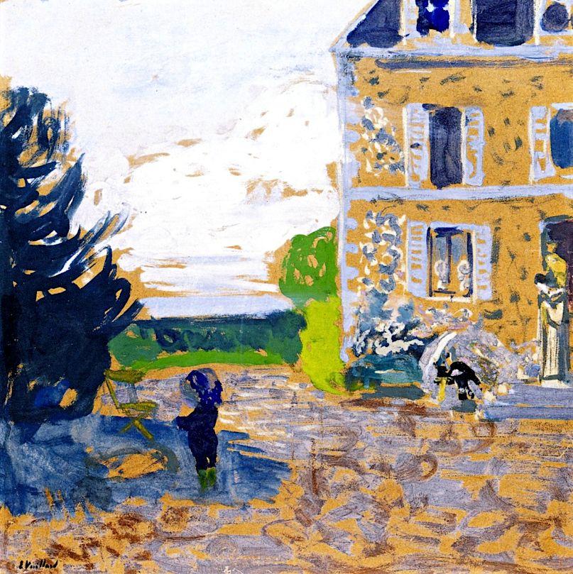In the Garden, Saint-Jacut / Edouard Vuillard