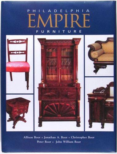 American Antique Philadelphia Empire Period Furniture Cabinetmakers | EBay