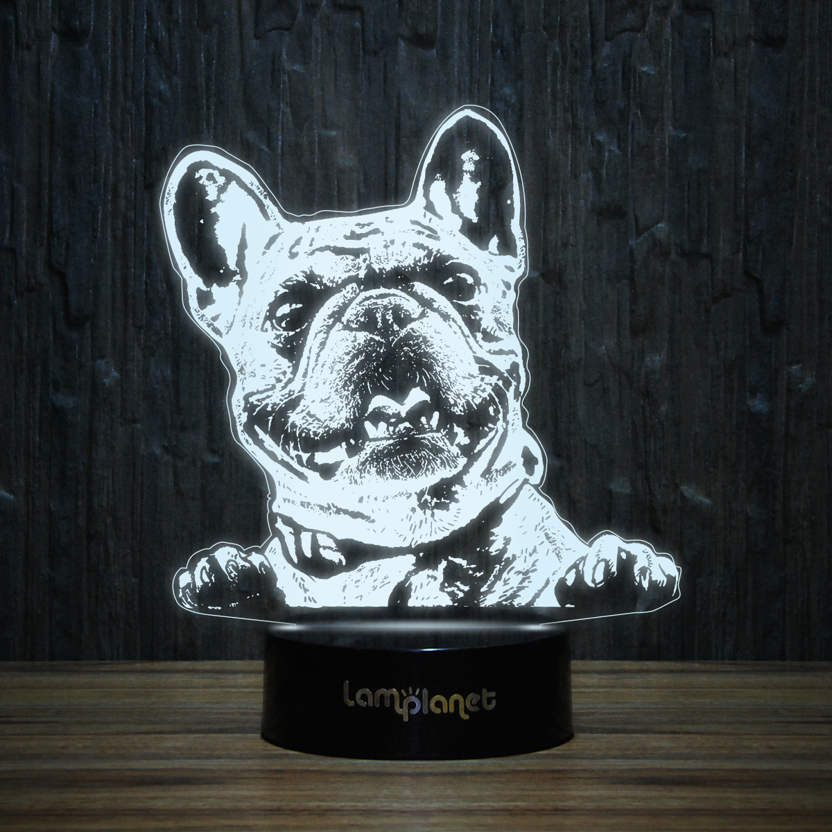 French Bulldog 3d Illusion Lamp 3d 97 Led Illusion Lamp Dachshund Accessories 3d Illusion Lamp 3d Illusions