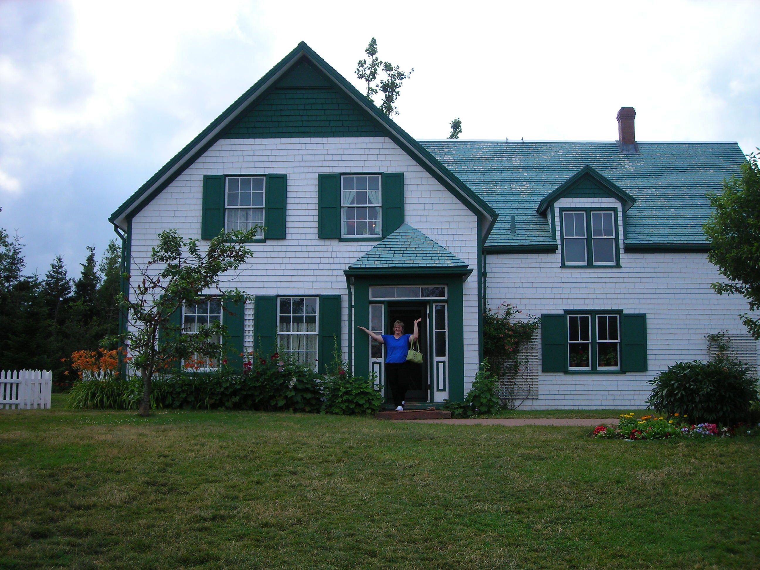 Standing In Front Of Green Gables On Prince Edward Island Canada