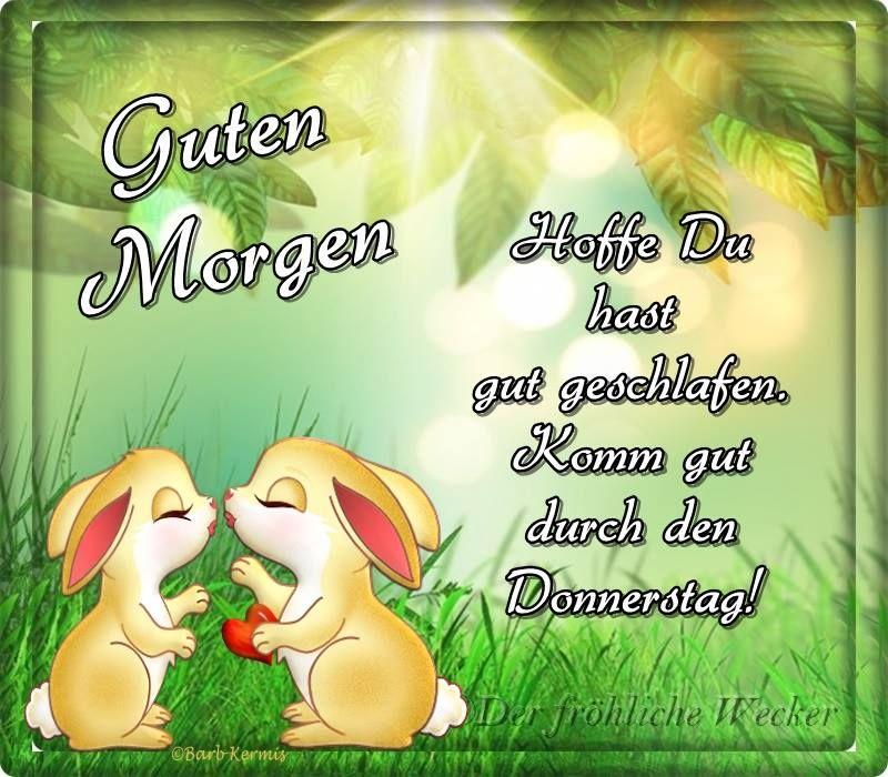 Donnerstag Gb Pics Guten Morgen Good Morning
