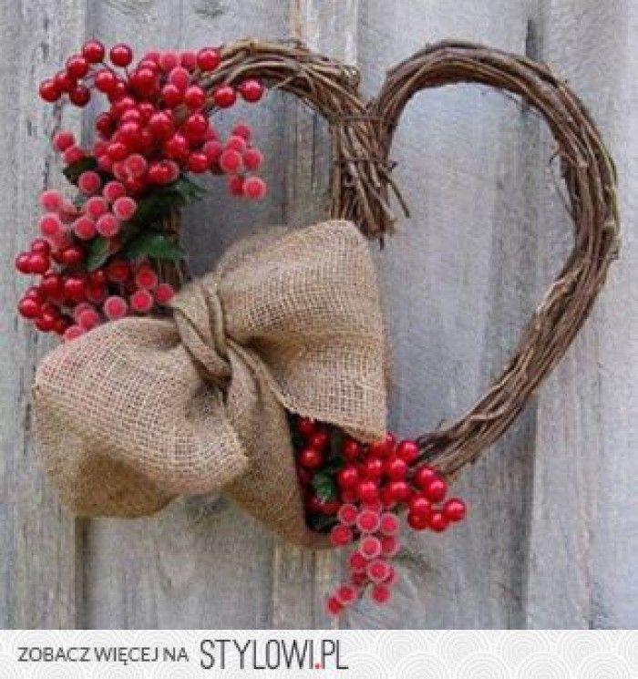Mooi Hart Voor Buiten Door Luciesoer Valentijnskrans Valentijn Decoratie Valentijnsdag Decoraties