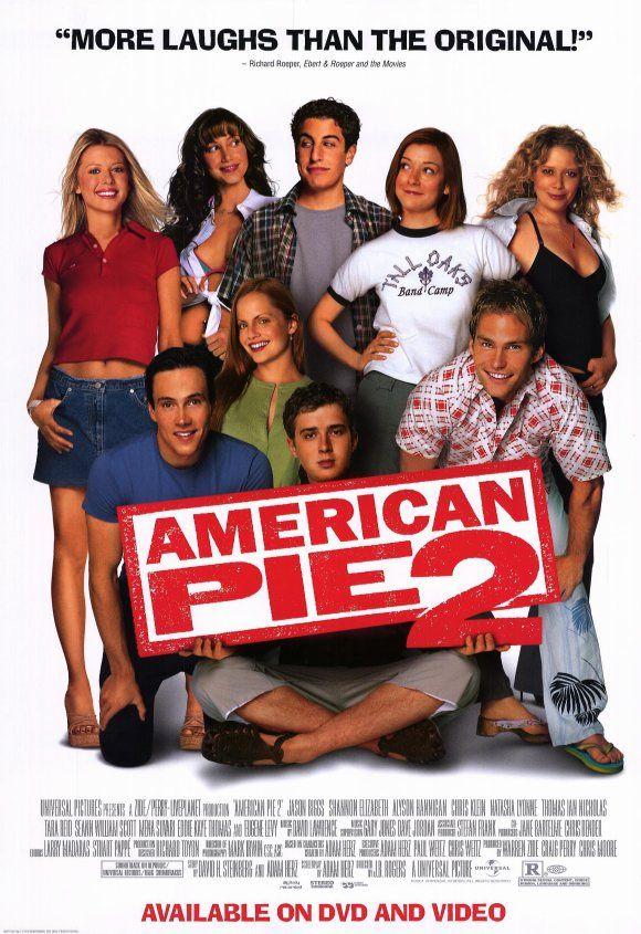Amerikai Pite 2 2001 With Images American Pie American Pie
