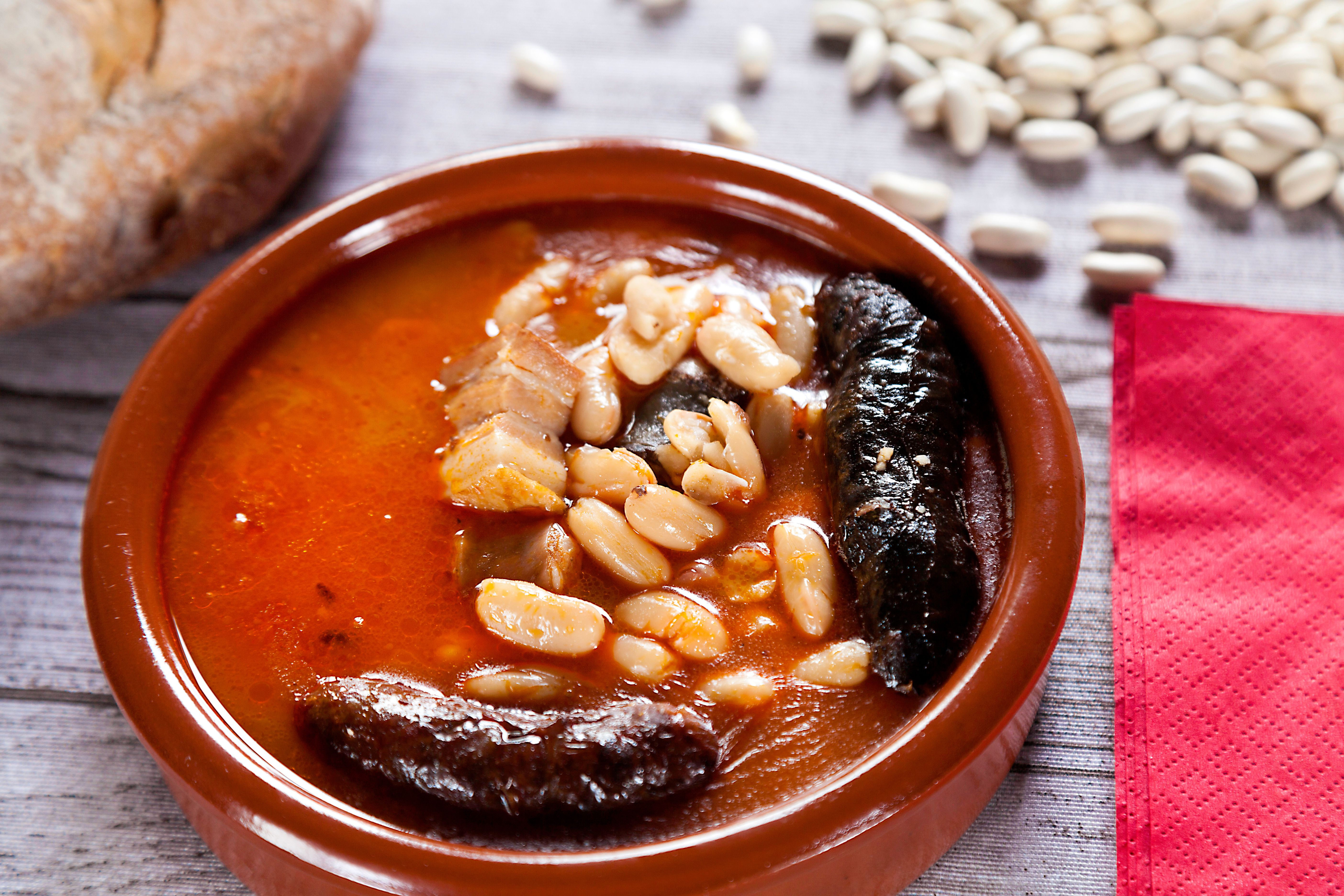 Chef Jose Andres Shares His Recipe For Fabada Asturiana Fabada Recipe Recipes Cooking Recipes