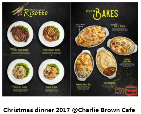 Traditional Christmas Dinner Best Deal 2017 At Charlie Brown Cafe In Cineleisure Orchard Mall Traditional Christmas Dinner Charlie Brown Cafe Christmas Dinner