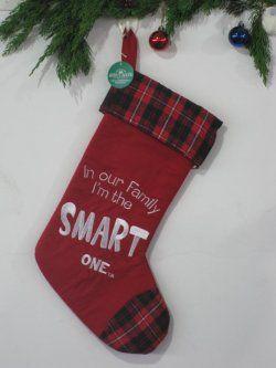 Kerst sokken ( groene bodem rode rand )