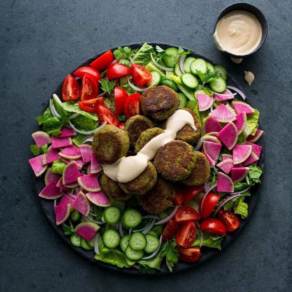 Blue apron falafel - Deep Fried Falafel Can Be A Total Grease Bomb But These Pan Seared