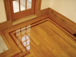 Wood Floor Borders And Feature Strips