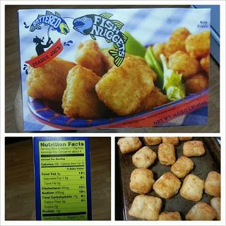 Trader joe s battered fish nuggets a serving is just about for Trader joes fish