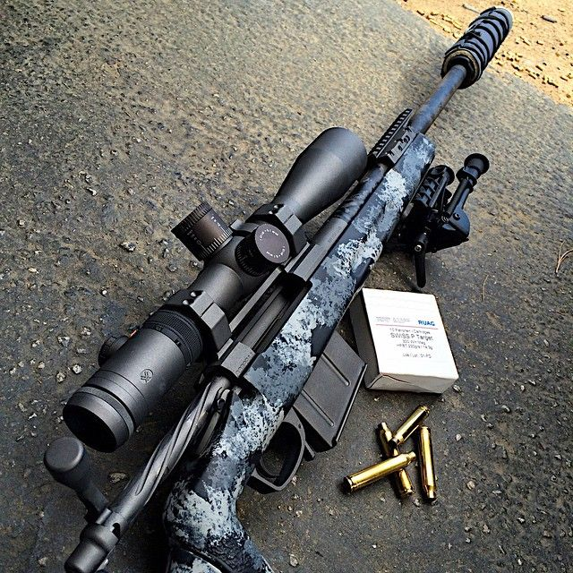 Custom .308 bolt gun #Remington #guns #fun #female #woman ...