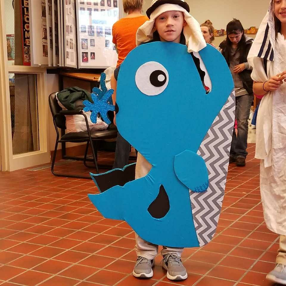 Jonah And The Whale Costume Christian Halloween Costume Biblical Costumes Diy Costumes Kids