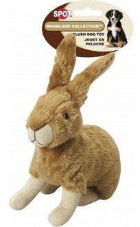 Ethical Spot Woodland Collection Plush Dog Toys Rabbit 8 Dog