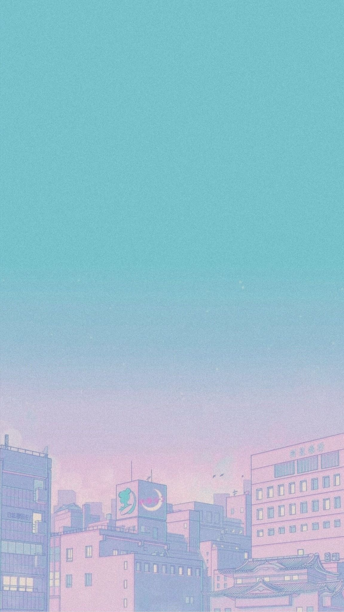 90s Anime Aesthetic In 2020 Anime Wallpaper Iphone Cute Pastel Wallpaper Minimalist Wallpaper
