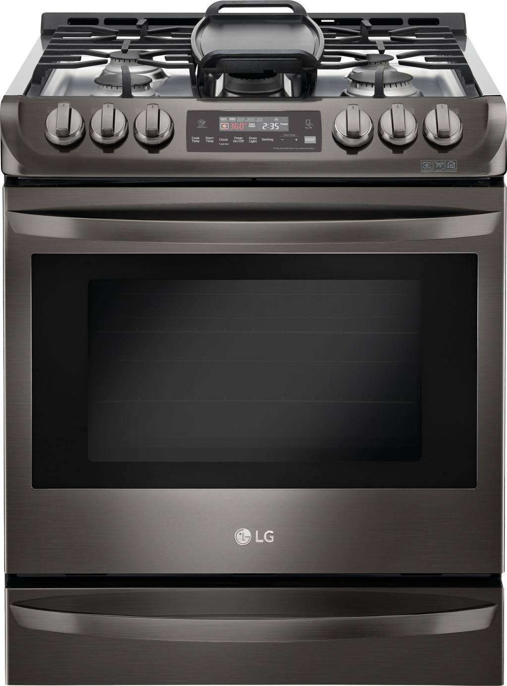 Lsg4513bd By Lg Natural Gas Ranges Goedekers Com Stainless