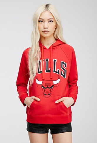 c3fa5f11d9531 Chicago Bulls Logo Hoodie | FOREVER21 | #thelatest | forever 21| the ...