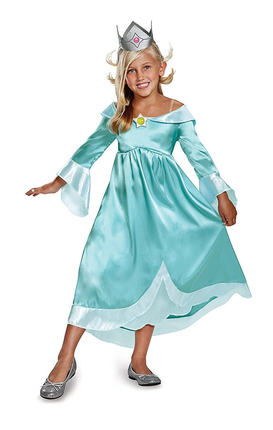 rosalina nintendo super mario bros. child halloween costume