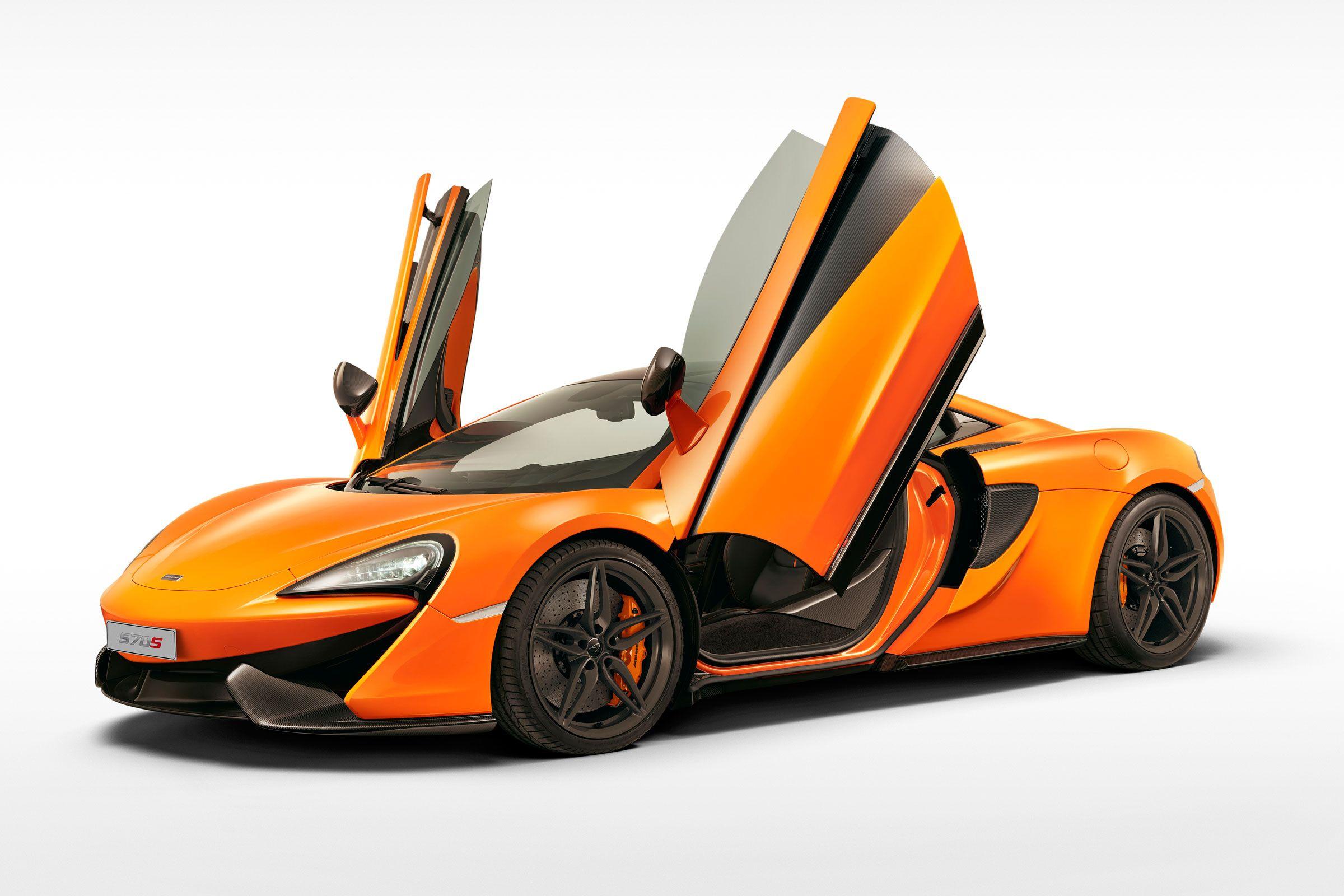 McLaren 570 Gulf Wing Door
