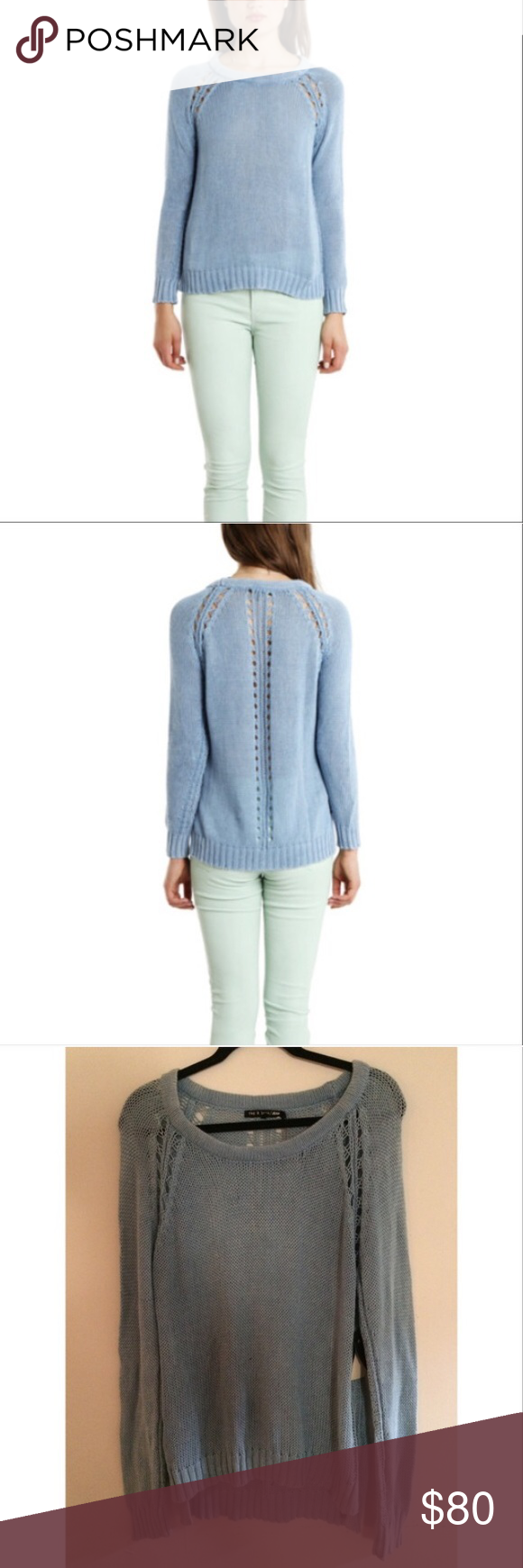 Rag and bone blue bay sweater | Cotton sweater, Scoop neck and ...