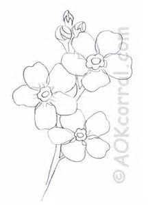 Forget Me Not Flower Pattern Tattoo Pinterest