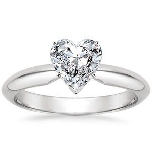 heart shaped engagement rings have always been a little unique but today hearts are the - Wedding Rings Houston