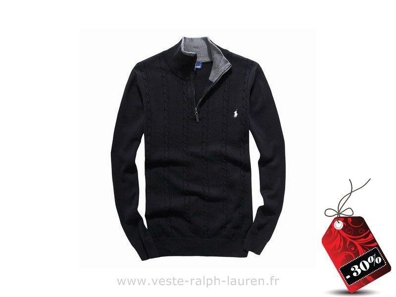 142558bbcd21 Polo officiel - Costumes Homme Ralph Lauren 2015 coton edition limitee mode  pas cher 6634 noir