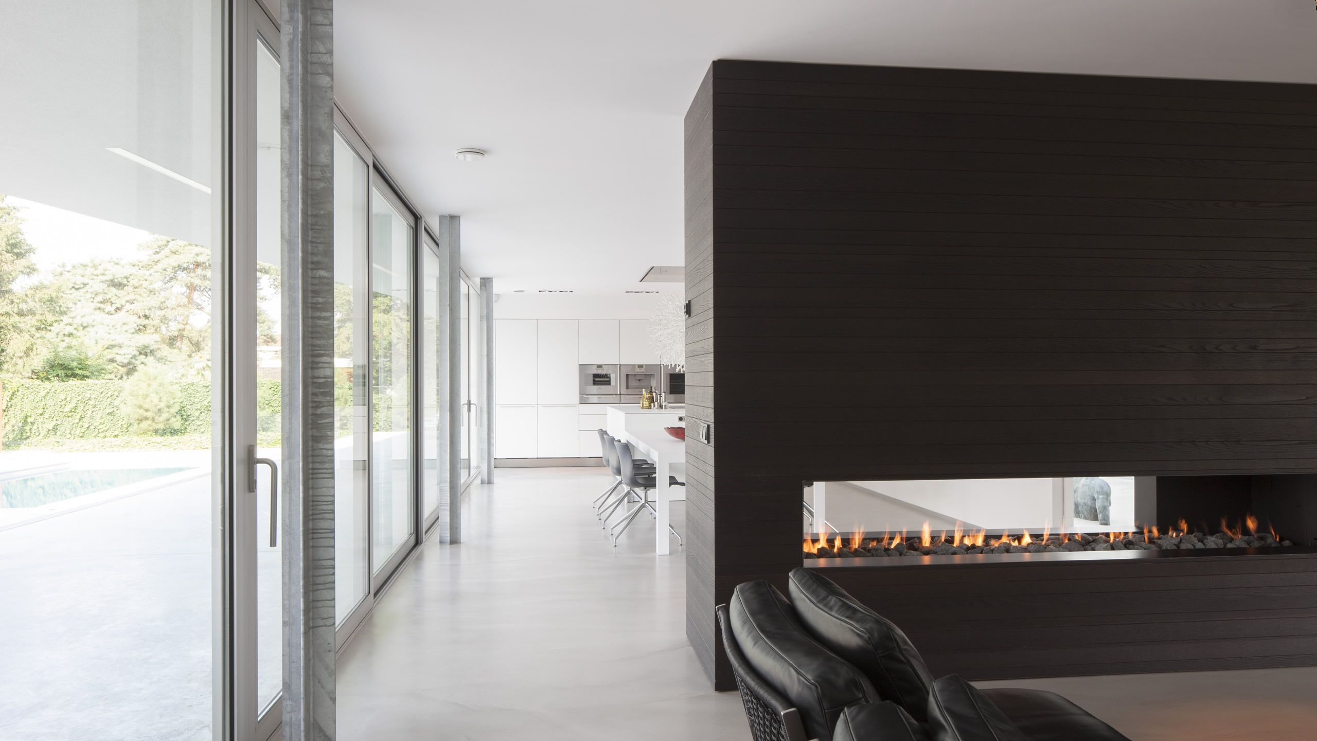 Lab architecten moderne eigentijdse architectuur villa spee
