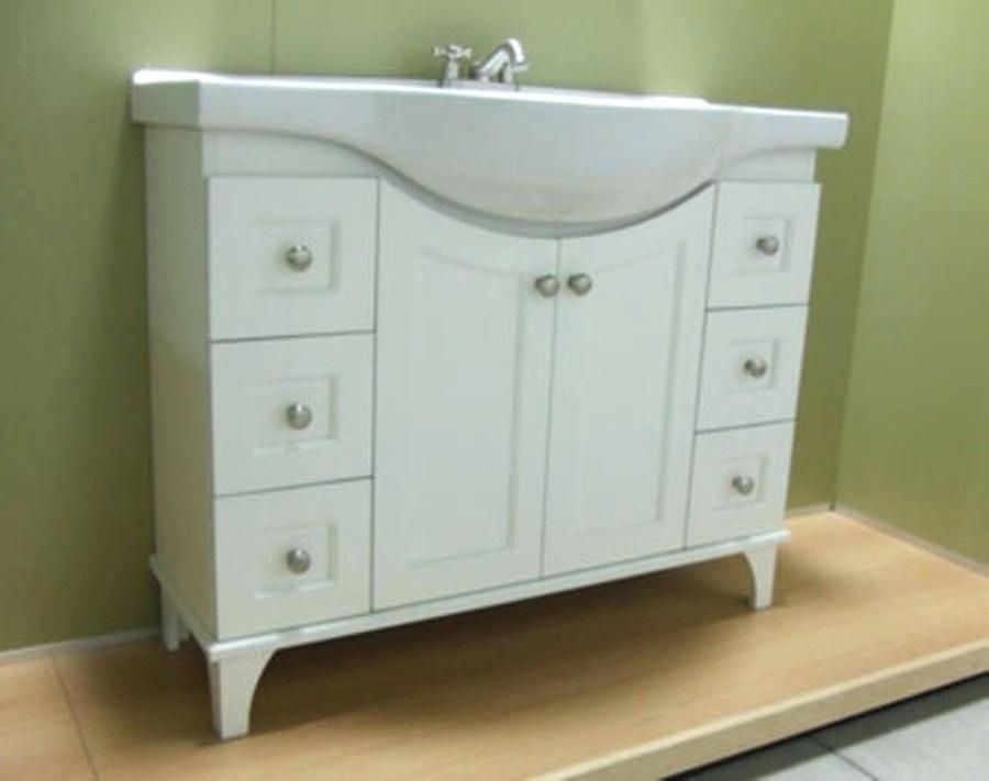 Shallow Bathroom Vanity In 2020 Narrow Bathroom Vanities Small Bathroom Vanities Narrow Bathroom