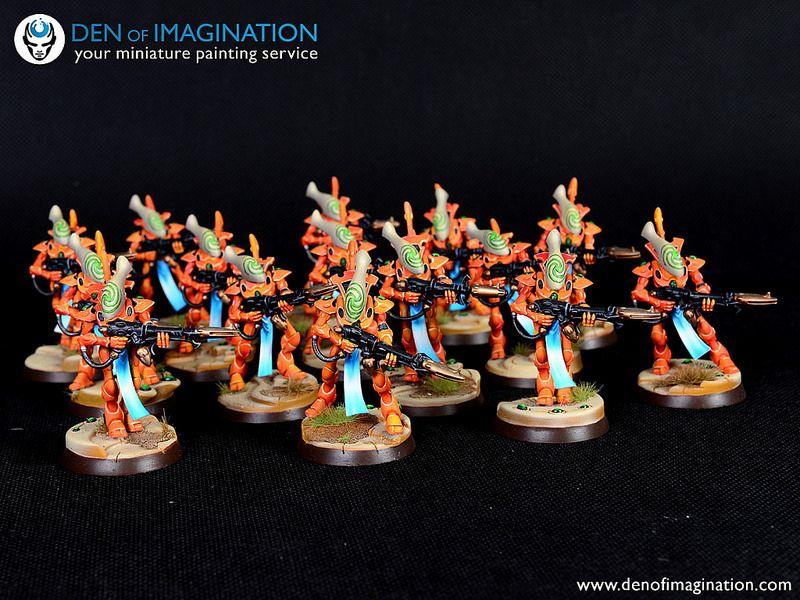 Orange eldar army den of imagination warhammer 40k pinterest orange eldar army den of imagination publicscrutiny Images